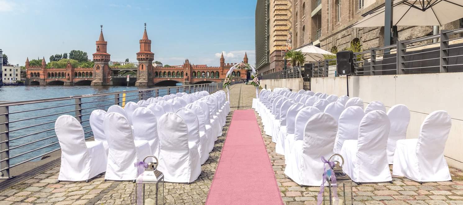 Hochzeitsfeier in Berlin