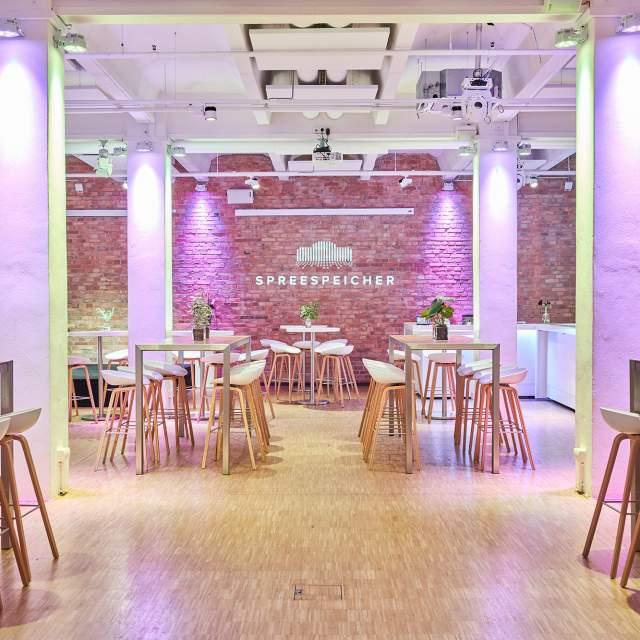 Meetings and Dinner Location Spreespeicher Berlin